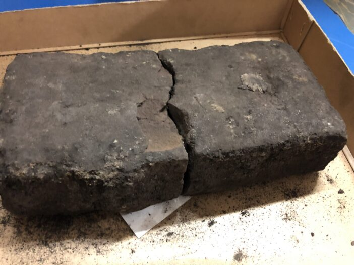 Bricks from the Great Fire of London