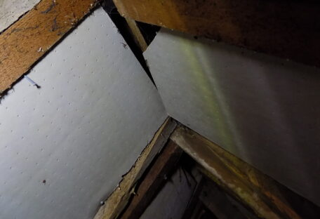 Do Not Use Solid Foam Insulation Products In Historic Buildings