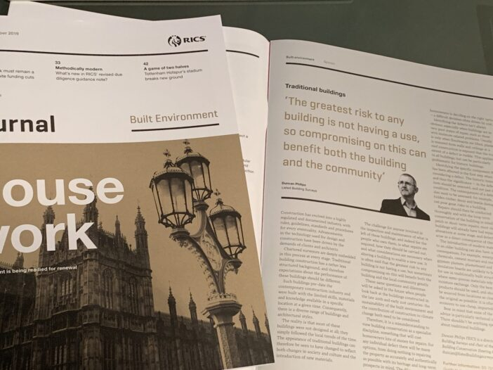 RICS Journal, October 2019